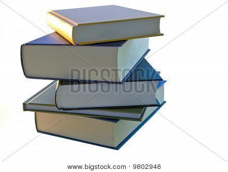 Ein Stapel von Büchern