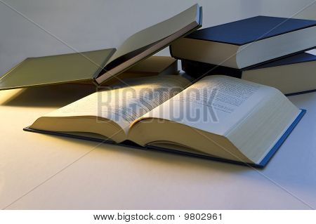 A Group Of Books