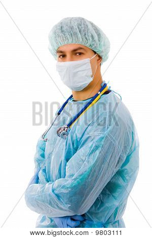 Young Male Surgeon
