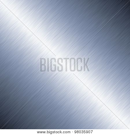 Diagonal Brushed Metal Background