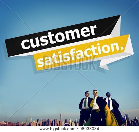 Customer Satisfaction Service Effiiency Consumer Concept