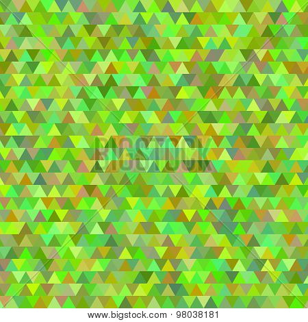 Spring Background Abstract Mosaic Triangles