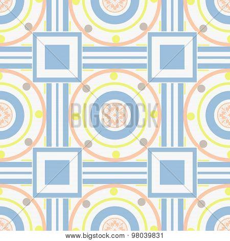 Seamless Ornamental Pattern Decoration Elements Texture, Tile Background