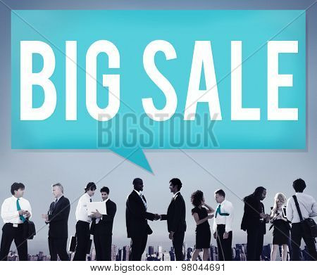 Big Sale Bonus Buying Cheap Discount Promotion Concept