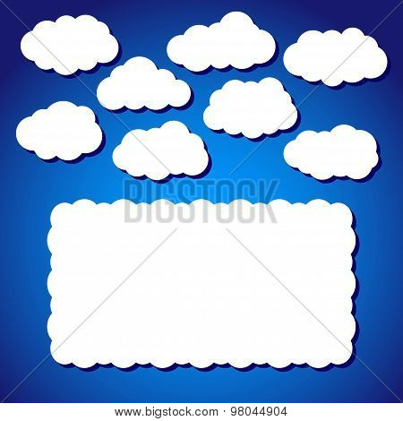 Clouds In Vector
