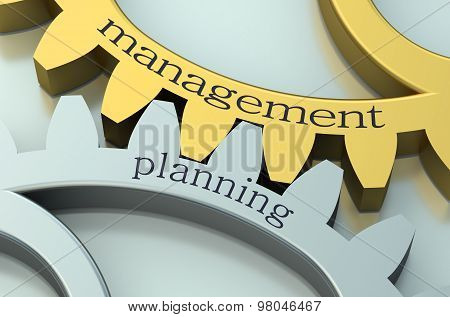 Management And Planning Concept On The Gearwheels
