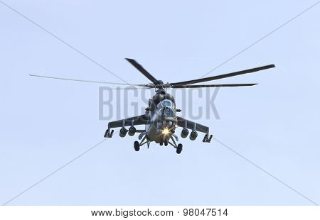 Czech Army Fighter- Helicopter Mi24V Hind