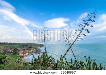 Coastline In Sciacca, Sicily