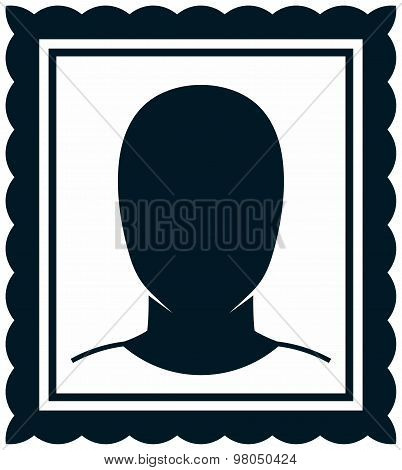 Vector Man Portrait Drawing