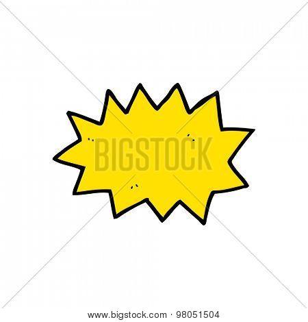 cartoon explosion symbol