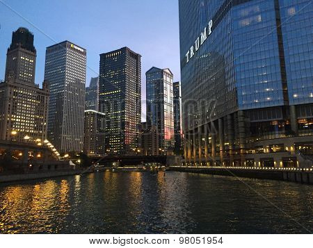Chicago's Riverfront