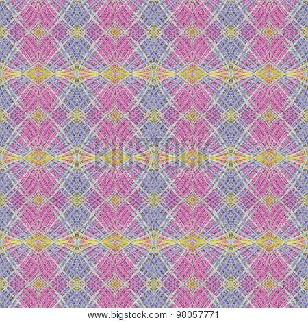 Hemp Rope Seamless Pattern Background