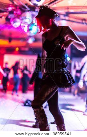 bokeh dancing