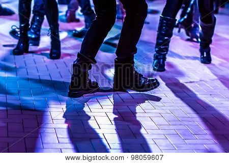 dance floor background