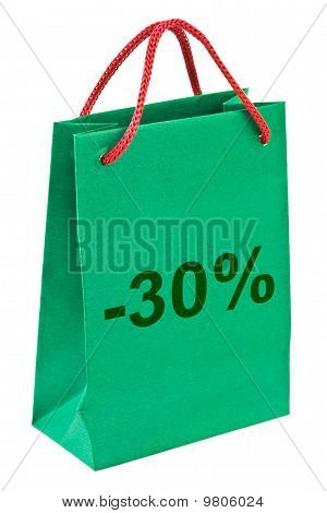 Shopping Bag 30 Prozent