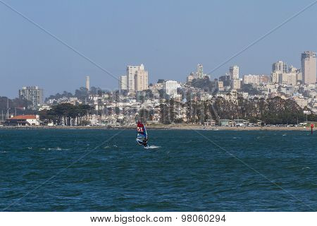 Water Sport In The Bay