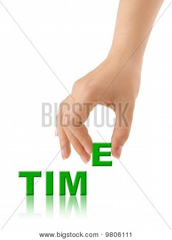Hand And Word Time