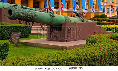 Old Thai cannon