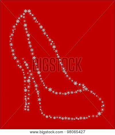 Snowflake Shoe