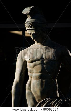 Statue Of An Ancient Greek or Roman Hero