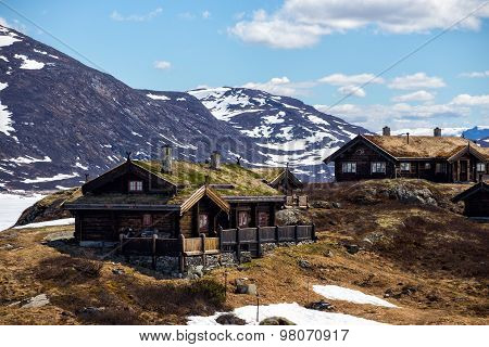 Old Wooden House At The Tyin