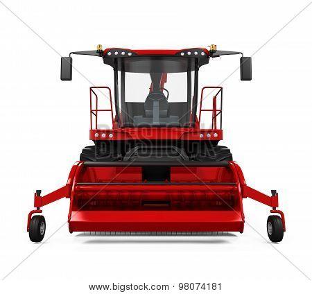 Red Forage Harvester