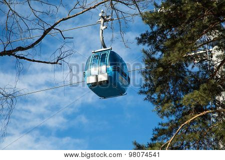Bansko Cable Car Cabin, Bulgaria