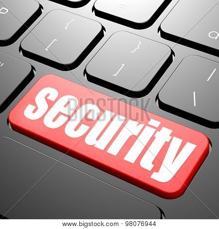 Keyboard With Security Text