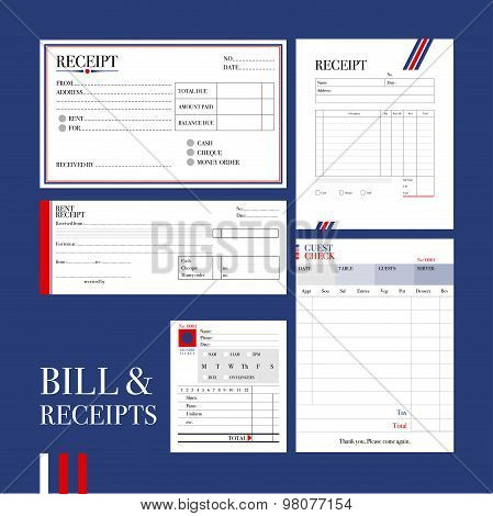 Bill & Receipts