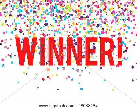 Winner Confetti