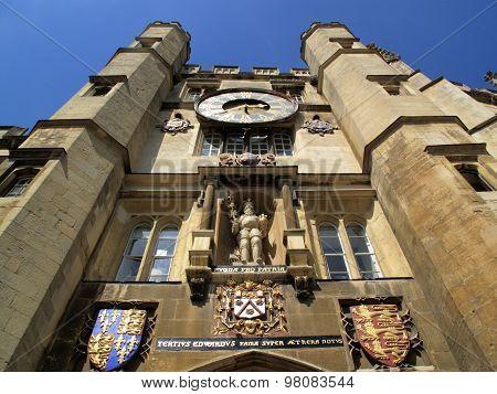 Trinity College chapel Cambridge University