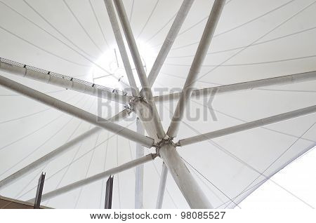 Shade Sails & Supports.