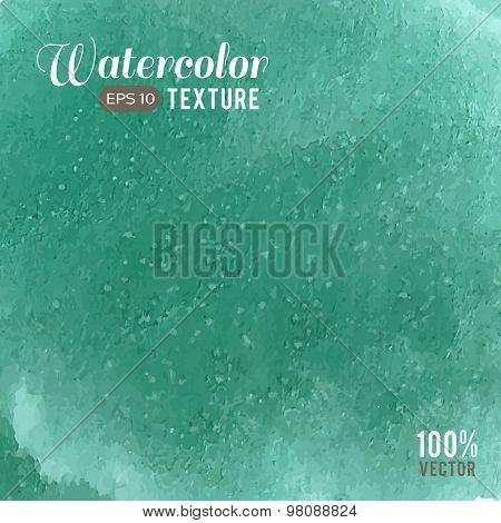 Mint watercolor texture