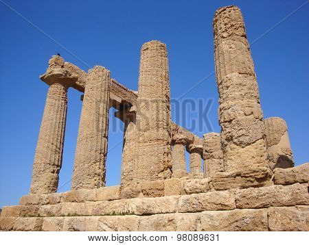ancient temple ruins of Agrigento