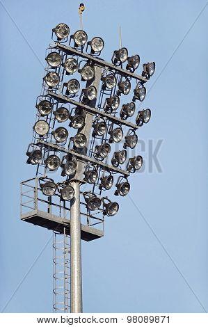 Football Stadium Spotlights