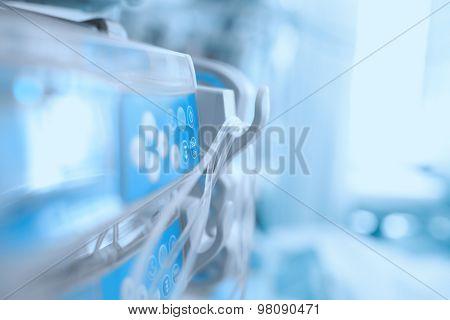 Medical Equipment In The Icu Ward