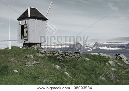 The smallest post office in Europe, Vigur island, Iceland