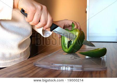 Pepper cutting