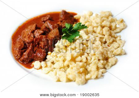 Traditional Hungarian Goulash food