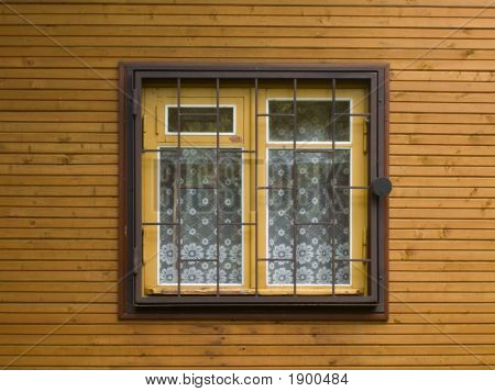 Window With A Lattice