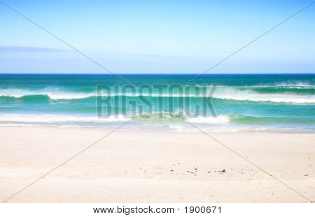 Beach With Waves