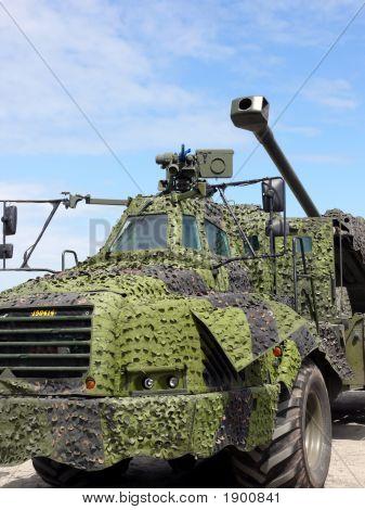Modern Military Vehicle