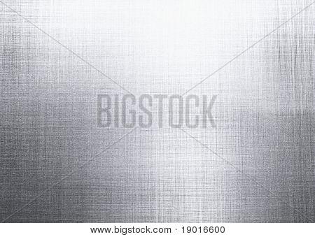 Texture Background aus gebürstetem Stahl