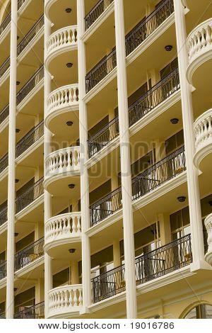 Big hotel in Sunny beach, Bulgaria
