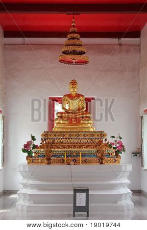 Gold Buddha at Thailand