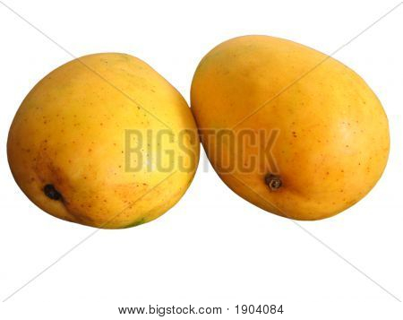 Isolated Mango