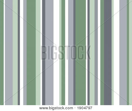 Blue, Green & White Striped Background