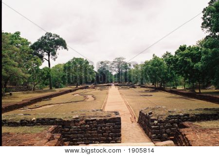 Ancient Architecture Of Sigiriya In Sri Lanka