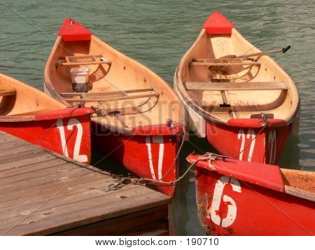 Numbered Canoes