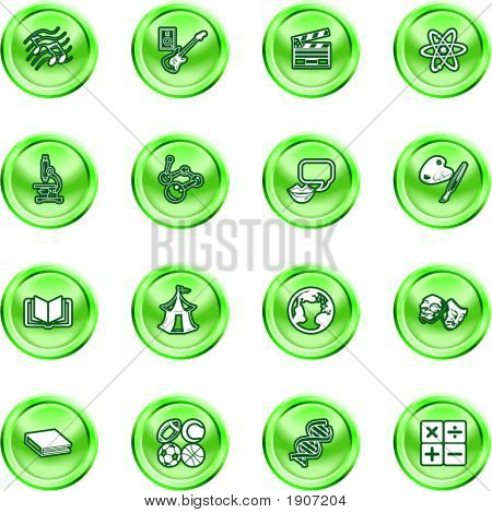 Academic Study Subject Icons